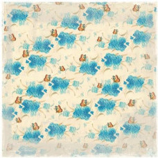 Бумага для скрапбукинга Blue Flowers 30*30 см от Magnolia