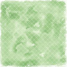 Бумага для скрапбукинга Vintage Green Quilt 30*30 см от Magnolia