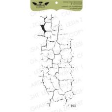 """Акриловый штамп """"Кракелюр средний"""", 5,9*12,3 см от Lesia Zgharda"""