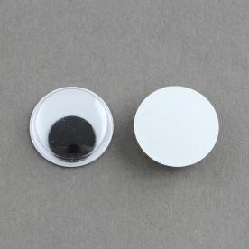 Глазки для кукол, маленькие, 4*2 мм, 1 шт