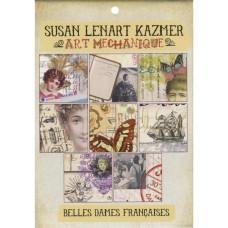 """Набор бумаги """"Belles Dames Franciaises"""", размер 14*20,5 см, 24 листа от  Ice"""