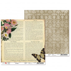 "Двусторонняя бумага ""Heritage"" 4, 1 лист , 30*30 см от Rosa"