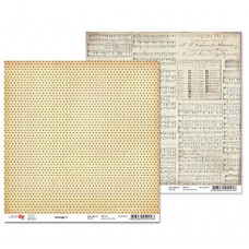 "Двусторонняя бумага ""Heritage"" 5, 1 лист , 30*30 см от Rosa"