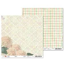 "Двусторонняя бумага ""Flora"" 4, 1 лист , 30*30 см от Rosa"