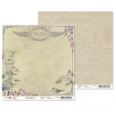 """Двусторонняя бумага """"Charmed garden"""" 5, 1 лист , 30*30 см от Rosa"""