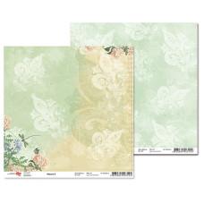 """Двусторонняя бумага """"Nature"""" 3, 1 лист , 30*30 см от Rosa"""