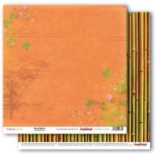 Двусторонняя бумага Эвкалипт и Бамбук, 30,5х30,5 см от ScrapBerry's