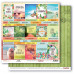 Двусторонняя бумага Карточки (рус), 30,5х30,5 см от ScrapBerry's