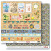 Двусторонняя бумага Карточки 2, 30,5х30,5 см от ScrapBerry's