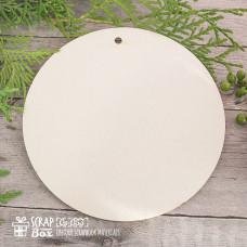Вкладыш основа для альбома в форме круга, 1 шт, 13*13 см от Scrapbox