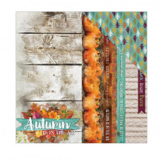 Двусторонняя бумага Autumn Air, 30*30 см, 1 лист от Paper House