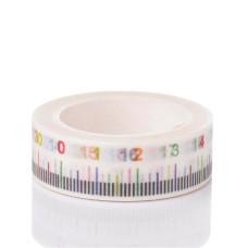 Бумажный скотч Ruler , 15 мм ,10 м