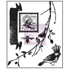 Акриловый штамп SongBird, 5 шт. от Prima