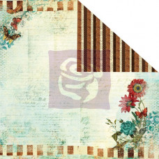 Двусторонняя бумага для скрапбукинга Pastiche - Seaside от Prima