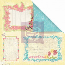 Двусторонняя бумага для скрапбукинга Fairy Notes - Sweet Fairy от Prima