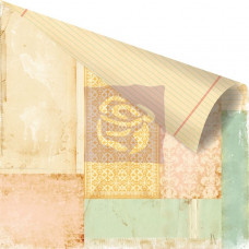 Двусторонняя бумага для скрапбукинга Collage - Songbird от Prima