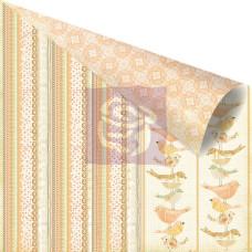 Двусторонняя бумага для скрапбукинга Lineage - Songbird от Prima