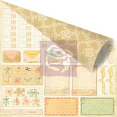Двусторонняя бумага для скрапбукинга Tag-it - Songbird от Prima