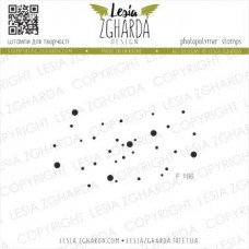 "Акриловый штамп ""Мерцание звезд"", 5,8*3,1 см от Lesia Zgharda"