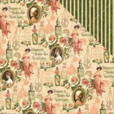 Двусторонняя бумага Catherine, 30*30 см от Graphic 45