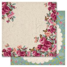 Двусторонняя бумага Country Garden, 30*30 см, 1 шт от Ruby Rock-It