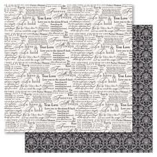 Двусторонняя бумага Forever & Always, 30*30 см от Ruby Rock-It