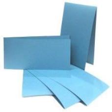 Набор заготовок для открыток 10,5*21 см 5 шт, цвет голубой от ROSA TALENT