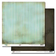 Двусторонняя скрапбумага Stripe от Glitz Design