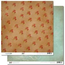 Двусторонняя скрапбумага Happy Travels - Floral от Glitz Design