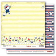 Двусторонняя бумага Пират, 30,5х30,5 см от ScrapBerry's