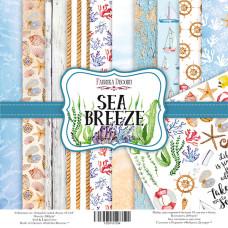 """Набор скрапбумаги """"Sea Breeze"""", 10 л, 30,5x30,5 см от Фабрика Декора"""