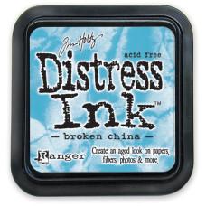 Краска для штампинга Distress Pad - Broken China от Tim Holtz
