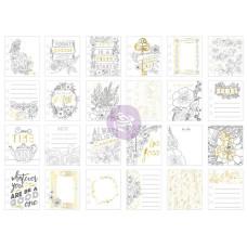 Карточки для планера My Prima Planner Watercolor Journaling Cards 24 шт.