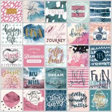 Наклейки для планеров My Prima Planner Stickers Inspirational 15х15 см 3 листа Prima