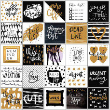 Наклейки для планеров My Prima Planner Stickers Everyday 15х15 см 3 листа Prima