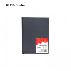 Блокнот скетчбук, белый А4 100 г/м2, 96 л. Rosa Studio