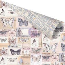 Двусторонняя скрапбумага I ll Fly With You - Lavender, 30x30 Prima
