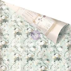 Двусторонняя скрапбумага Misty Fields - Vintage Floral, 30x30 Prima