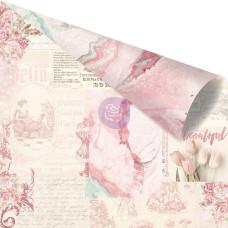 Двусторонняя скрапбумага Love Notes Only For You - Love Story, 30x30 Prima