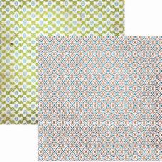 Двусторонняя бумага для скрапбукинга 30х30 см Treasure от Lily Bee Design