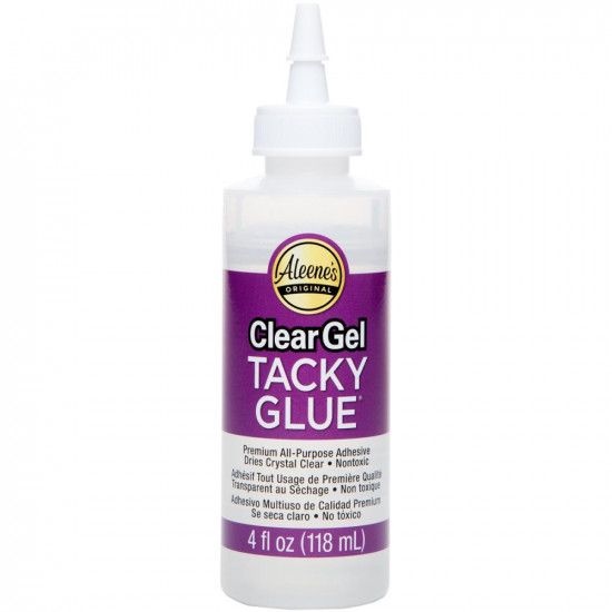 Клей Glue Tacky Gel 118 мл Aleenes