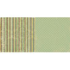 Двусторонняя бумага для скрапбукинга 30х30 см Handmade от Lily Bee Design