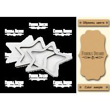Заготовка для шейкера Звезда-2 10x10,5 Kraft_Milk Фабрика Декору