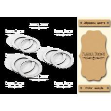 Набор заготовок для шейкеров Круги 6x6 Kraft_Milk Фабрика Декору