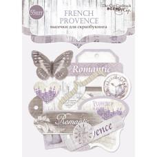 Набор высечек для скрапбукинга 55шт Scrapmir French Provence