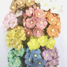 Набор цветочков Sweetheart в пастельных тонах, 10 шт.