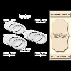 Набор заготовок для шейкеров Круги 6x6 бежевый Фабрика Декору
