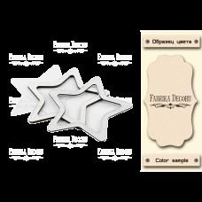 Заготовка для шейкера Звезда-2 10x10,5 бежевый Фабрика Декору