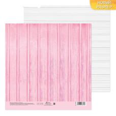 Бумага для скрапбукинга Досочки, 20х20 см, 180 г/м, Артузор