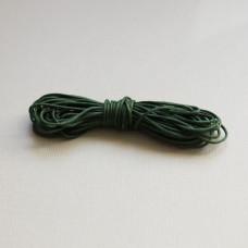Вощеный шнур оливкового цвета 5 м.
